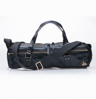 Short Handles Attached Adjule Shoulder Strap Fits C Or B Flute Cases Plus Piccolo Case Roomy Outside Pocket For Accessories
